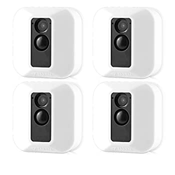 Silicone Covers Skins for Blink XT/XT2 Security Camera,Silicon Case for Blinks Home Security - Anti-Scretch Protective for Full Protection - Indoor Outdoor Best Home Accessories  4 Pack White