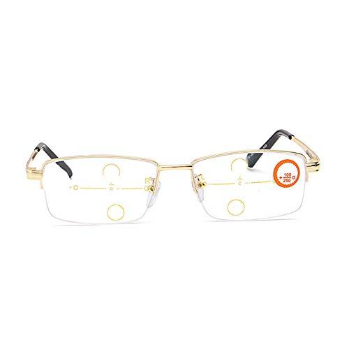 Z&HA Anti-vermoeidheid leesbril, intelligente multi-focus HD hars computer bril, geschikt voor het bekijken van mobiele telefoons tijdens het lezen van kranten