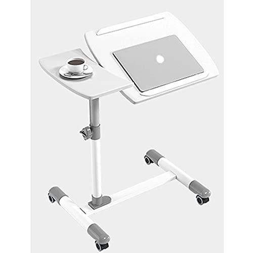 Fällbar bärbar datorbord med justerbar höjd och lutningsvinkel Bärbar dator Skrivbord Tablet Stand Fack Säng Soffa Fåtölj Stående Skrivbord, Svart