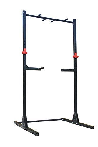 QLS Davski - Barra de dominadas (soporta hasta 250 kg)