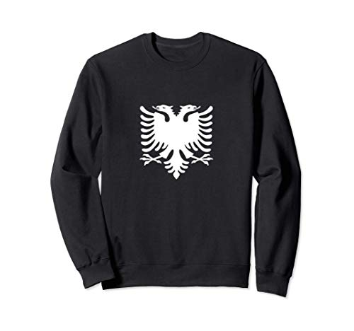 Albanien Flagge Doppeladler Fahne Albanischer Adler Geschenk Sweatshirt