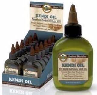 difeel Kendi aceite Premium pelo natural aceite 2,5oz/70g (Pack de 6)
