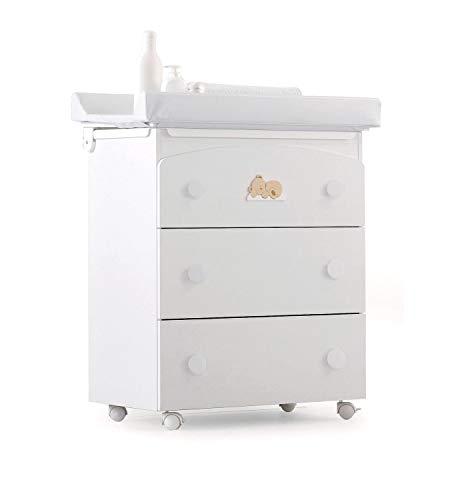 Callejón Design unipersonale bg3cwebcdbn bañera cambiador, blanco