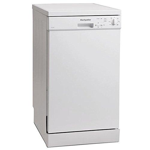 Montpellier DW1064P Slimline Dishwasher in White