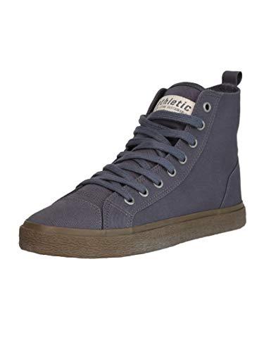 Ethletic Unisex Sneaker Hi Fair Sneaker Goto HI Pewter Grey 42 Fair | Vegan | Nachhaltig