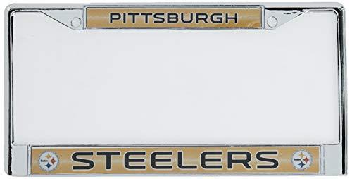 Rico NFL Pittsburgh Steelers Bling Chrome Plate Frame