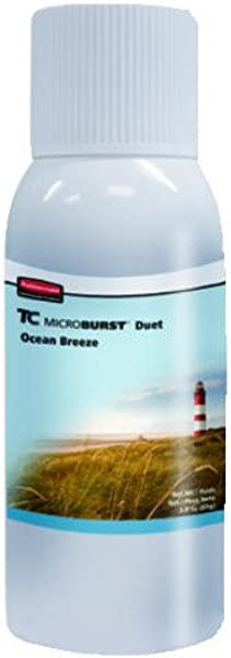 Rubbermaid Commercial Products Microburst 3000 Air Sani Met Dsp 12Rfl Ocean Brze