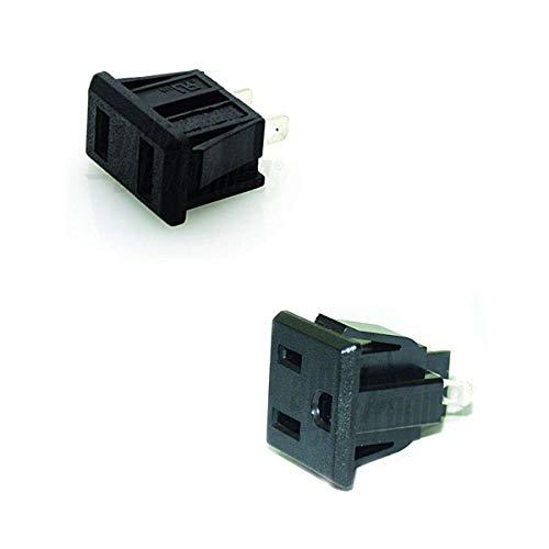 Lote de 5/Jack Toma Jack 3.5/mm Macho para soldar est/éreo Enchufe Macho Mini Jack Conector Soldadura/ /adaptout Marca Francesa