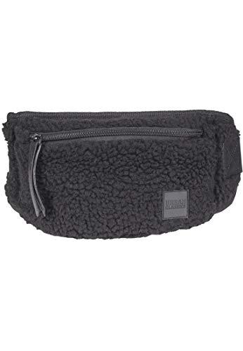 Urban Classics Sherpa Mini Hipbag Umhängetasche 35 cm, Black