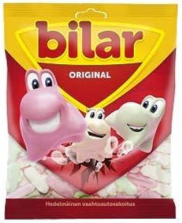 14 Bags x 125g of Ahlgrens Bilar Original - Swedish - Chewy - Marshmallow - Cars - Candies - Sweets - New Design!…