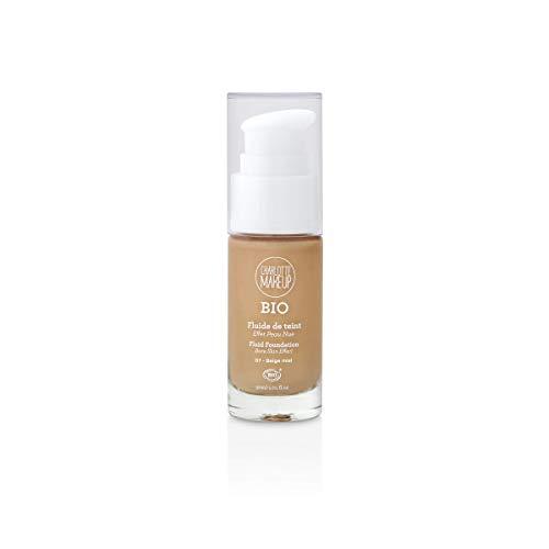 Charlotte Make Up – El tinte de maquillaje ecológico – Beige miel – Unifica y revela el brillo del tono – 30 ml