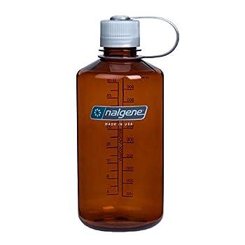 Nalgene Tritan Narrow Mouth BPA-Free Water Bottle Rustic Orange 32 oz