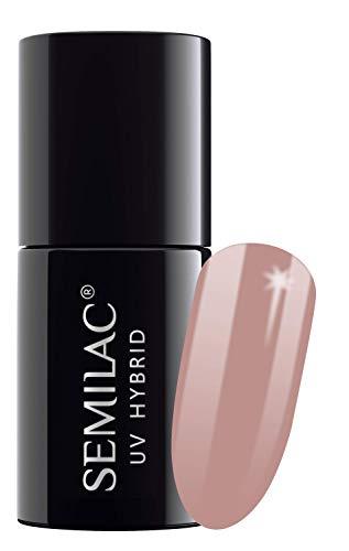 semilac UV Hybrid Nagellack, Anzahl 004, 7ml, Classic Nude