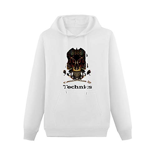 QSCV Youth Teen CottonHoodies Technics 1200 DJ Skull DJ Vestax...