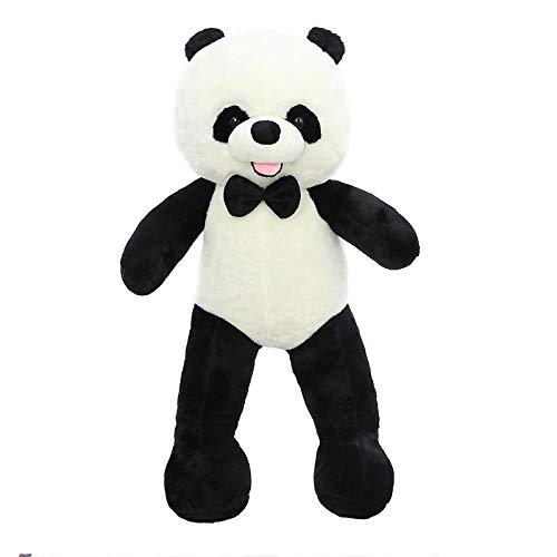 Pluche Leuke Grote Panda Knuffel Zachte Panda Kussen-Panda_130cm