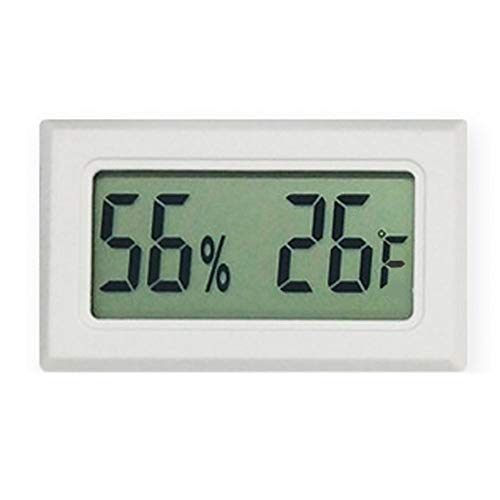 JSFDSUCM Thermometer Digital LCD Indoor Convenient Temperature Sensor Refrigerator Temperature and Humidity Portable Instrument