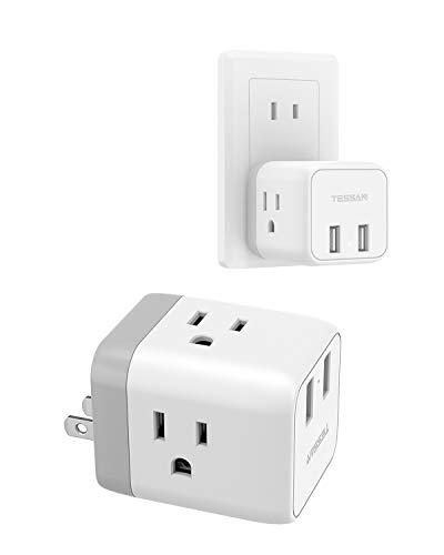 USBコンセント タップ 3AC口 2USBポート付き 充電タップ マルチタップ usb コンセント 分岐 コンセント 電源タップ 直挿し タコ足コンセント