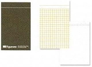 アピカ フィグラーレ 複写メモ 118×74 方眼罫 茶 ME511C / 10セット
