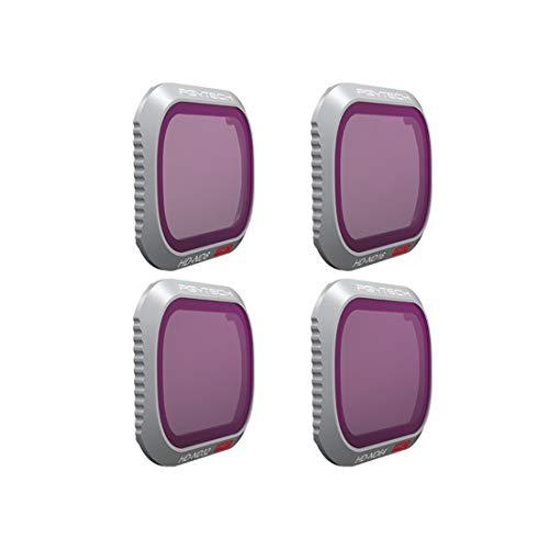 15000P 4Pack PGYTECH ND Set de Filtre Drones: ND8 ND16 ND32 ND64 Lens Filter Filtre pour DJI Mavic 2...