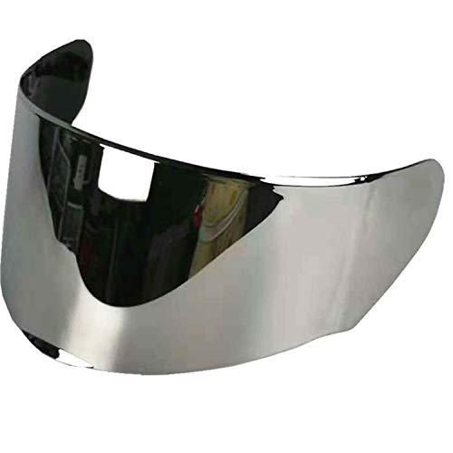 LS2 Assault/Rapid/Stream Pinlock Ready Outer Face Shield (Silver Iridium)