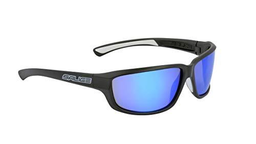 Salice 001RWP Sonnenbrille SR Schwarz RW Polar-Hydro Blau Unisex Erwachsene Beschreibung Rahmen: Schwarz, One