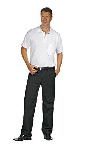 Leiber Herrenhose schwarz Größe 48