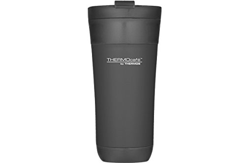 THERMOS 124596 Flip LID Tumbler MUG 425ML Noir, Plastique