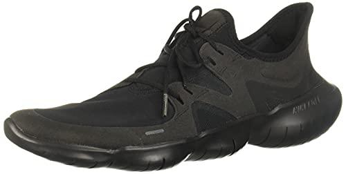 Nike Free RN 5.0, Scarpe da Corsa Uomo, Black/Black/Black, 42 EU
