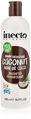 INECTO NATURALS - Champú de Coco hidratante con aceite puro de coco...