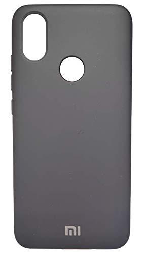Capa Case Capinha Silicone Aveludado super resistente Celular Xiaomi Mi A2 Preta