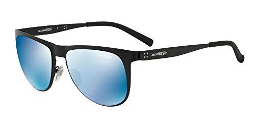 Arnette Sonnenbrillen JONESER AN 3077 MATTE BLACK/BLUE 55/18/140 Herren