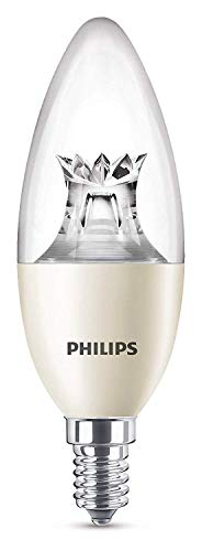 Philips LED Warm Glow Lamp vervangt 60 W, E14, warmglow (2200-2700 K), 806 lumen, kaars, dimbaar, 8718696555972