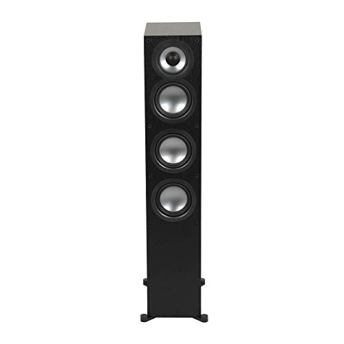 ELAC Uni-Fi 2.0 UF52 Floorstanding Speaker (Each), Black (UF52-BK)