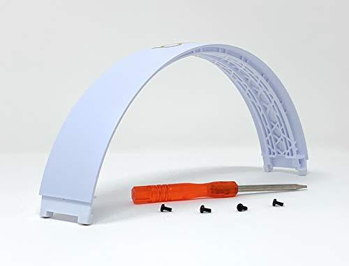 Replacement Top Headband Repair Parts for Beats Studio 3 Wireless Headphones Studio3 (White)