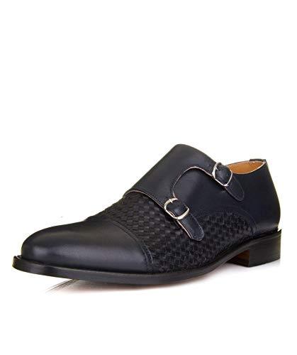 Calzados Losal | Zapato Doble Hebilla | Zapato Hombre | Zapato Fabricado a Mano | Zapato Blake | Zapato Fabricado en España | Zapatos Artesanos | Fabricación Blake (44)