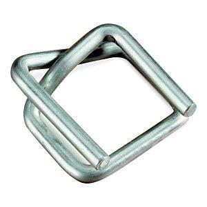 PACK Metallklemmen/Klemmen für Umreifungsband/Textilumreifungsband/Verpackungsband, 19 mm 1000 Stück