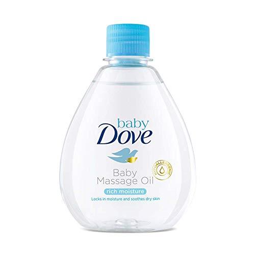 Baby Dove Rich Moisture Baby Massage Oil, 200ml