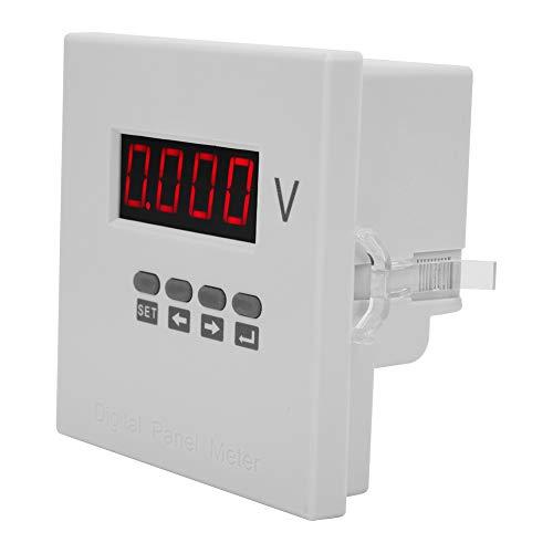 Medidor de voltaje, reloj de alarma digital estándar Precisión de precisión de plástico AC220V