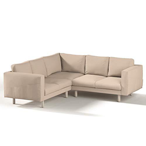 Dekoria Norsborg 1028-702-01 IKEA norsborg Corner - Funda para sofá de 4 plazas, funda para sofá de esquina norborg