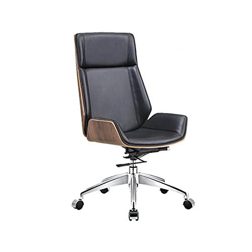 Silla de oficina ergonómica,Silla ejecutiva de malla de tarea silla de escritorio de respaldo alto,Silla giratoria de computadora negro