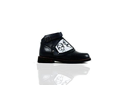Base XXX + Zubehör II - The Shoemaker Der Schuster Handgefertigte Hand Genäht Leder Rindsleder Stiefel Männer Frauen Unisex Einzigartige Schwarz Einzigartige
