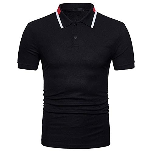 Willlly Polo Shirt mannen Zomer Casual Chic Lapel Korte Mouw Polo Shirt Slim Fit Dagelijks Uitgaan Mode Sport Beweging Pique Polo Shirts Tops Basic