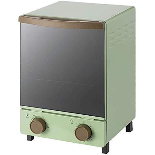 HSF 12 Liter Retro Mini Vertikal Ofen Licht Quarz Heizrohr Timing-Spiegel Glastür Mikrowellen mit Ofen & Grill