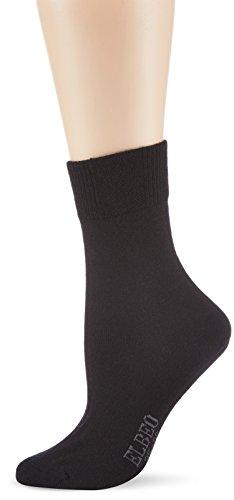 ELBEO Damen Sensitive Classic Woool Socken, Schwarz (schwarz 9500), 39-42 (II)