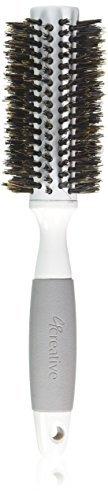 Creative Hair Brushes Solid Barrel Ceramic, Medium, 2.9 Ounce by Creative Hair Brushes