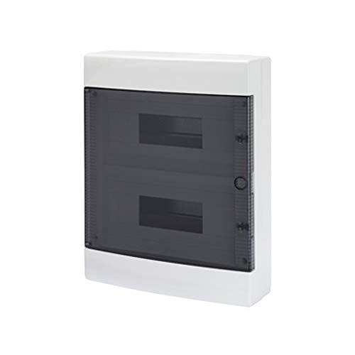 Gewiss GW24403PM - Caja pared ligera 3 módulos verde