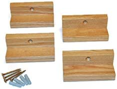 Record Shelf Wall Mount of 4 Natural Pack At the price surprise Outlet SALE
