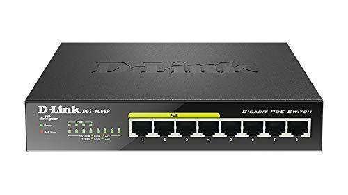 Switch Gigabit 10 Puertos Marca D-Link
