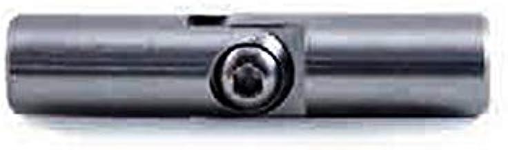 Glijscharnier van roestvrij staal afwerking AISI 304 geborsteld voor binnen.