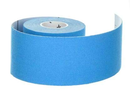 Tarmak - Banda para kinesiología 5 cm x 5 m, color azul